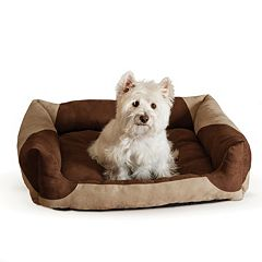 K&H Classy Lounger Bolster Pet Bed - 20'' x 25''