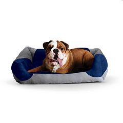 K&H Classy Lounger Bolster Pet Bed - 28'' x 32''