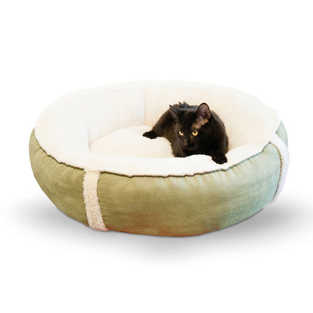 KandH Sleepy Nest 24-in. Round Pet Bed - Small