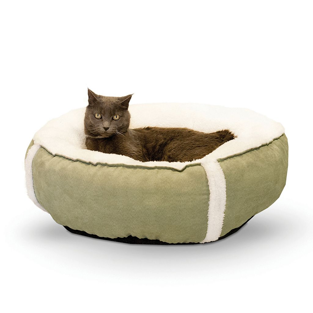K&H Sleepy Nest 24-in. Round Pet Bed - Small