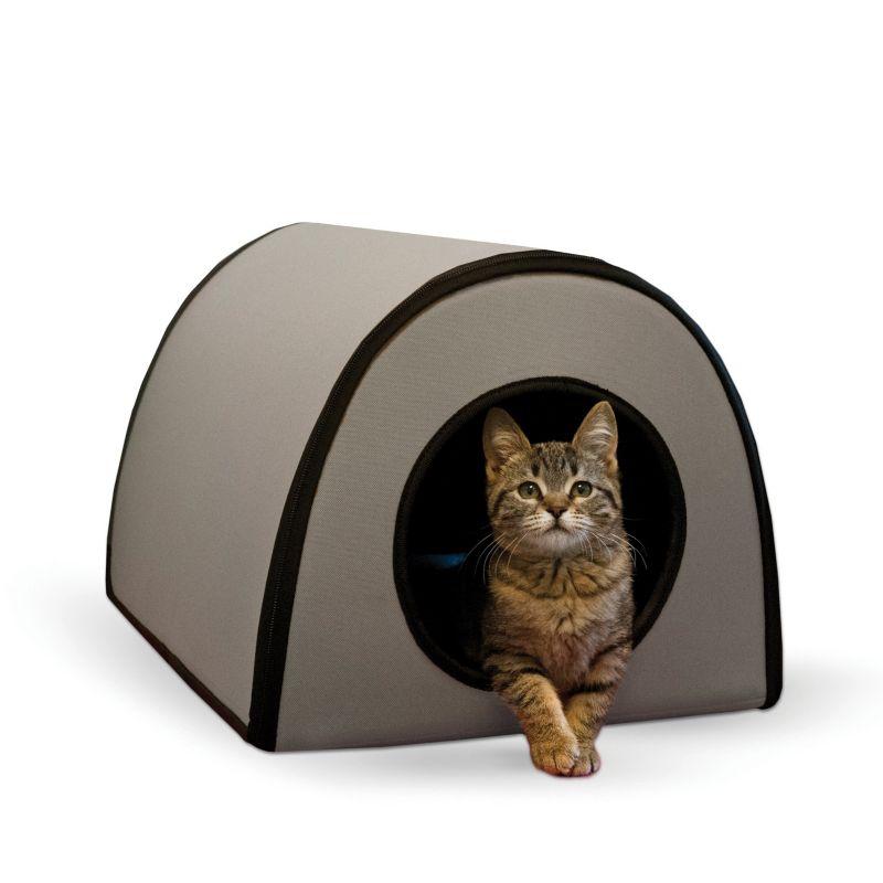 K & H Mod Outdoor Cat Shelter (Grey)