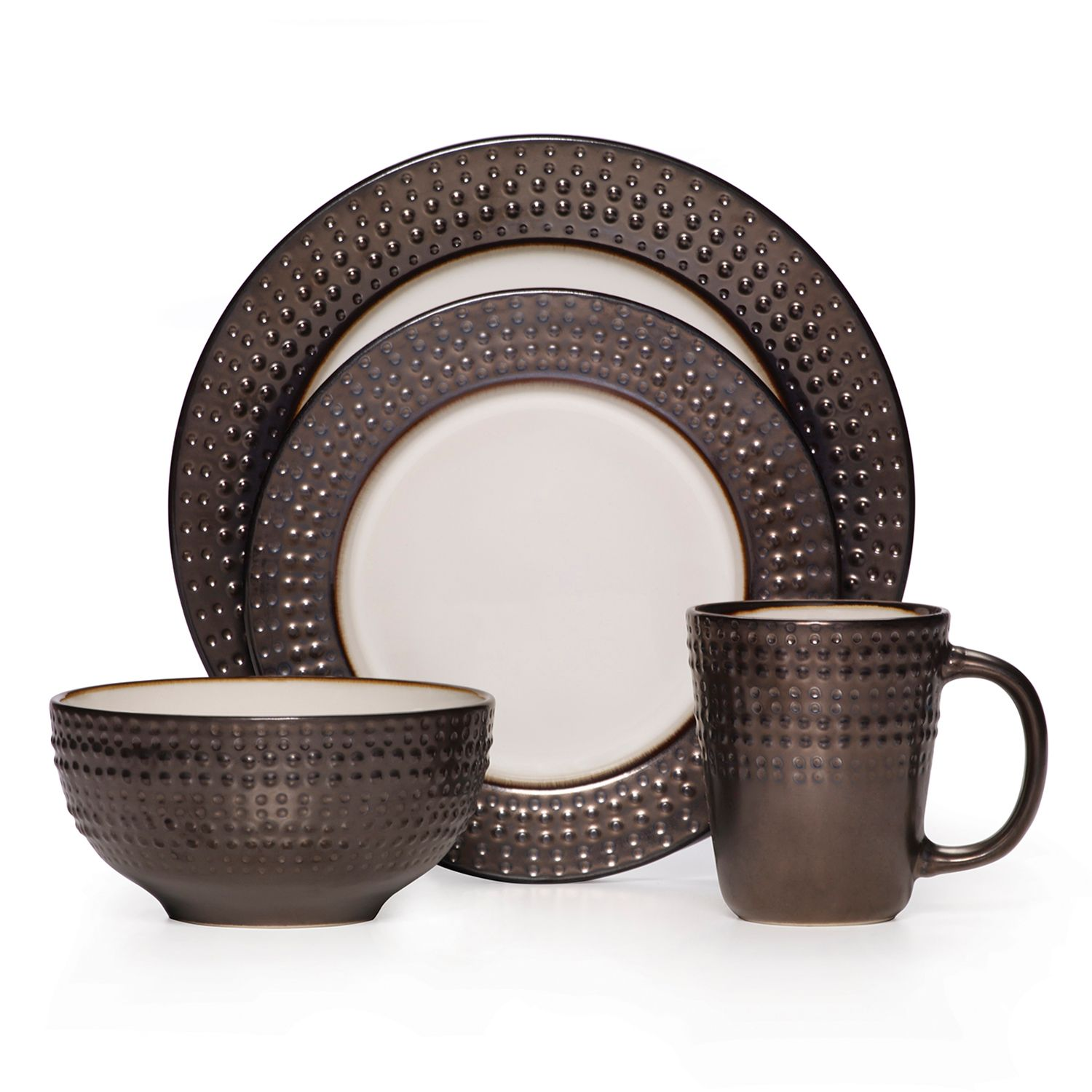 sc 1 st  Kohlu0027s & Mikasa Gourmet Basics Avery 16-pc. Dinnerware Set
