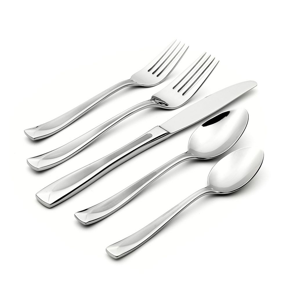 Oneida Satin Lincoln 45-pc. Flatware Set