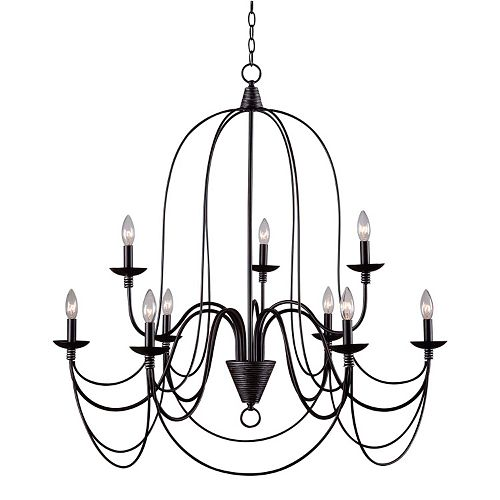 Pannier 9-Light Chandelier