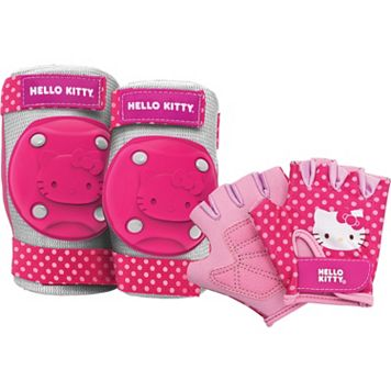 Hello Kitty® Elbow, Knee & Hand Protection Set by Bell Sports - Kids