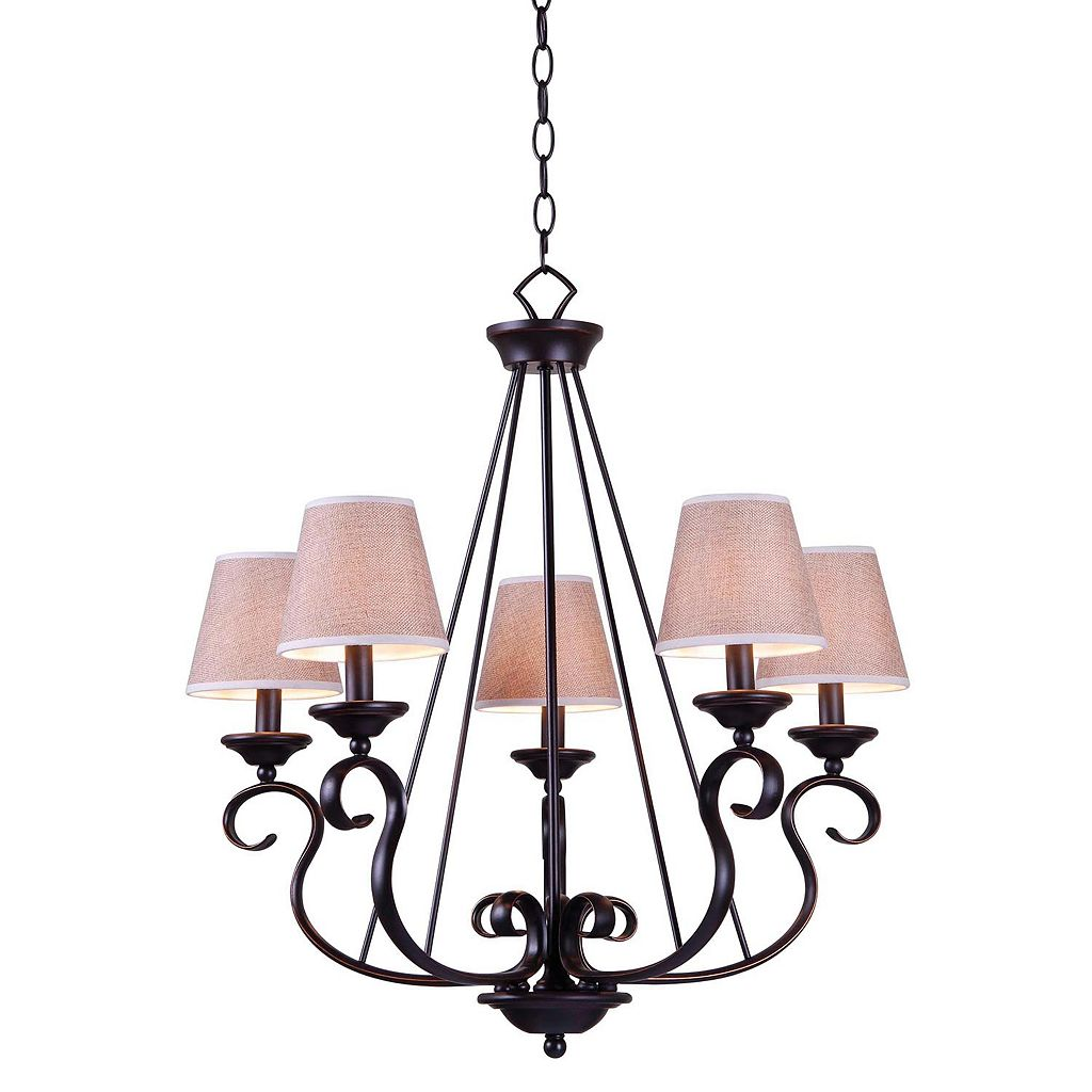 Basket 5-Light Chandelier