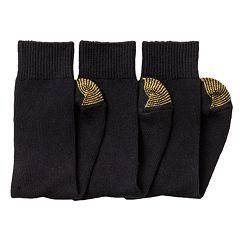 Men's GOLDTOE 3 pkCrew Socks