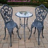 Hummingbird Outdoor Table 3-piece Set