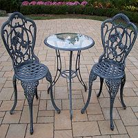 Hummingbird Outdoor Table 3 pc Set