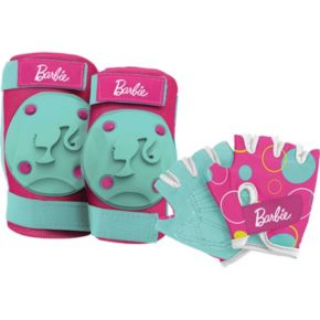 Barbie Elbow, Knee and Hand Protection Set by Bell Sports- Kids