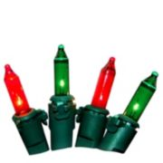LumaBase 2-pk. Red & Green String Lights