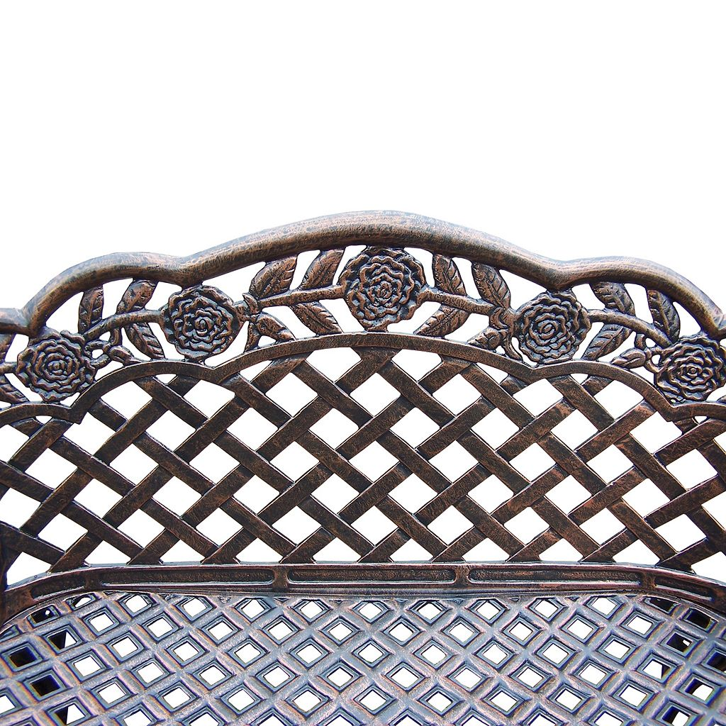Rose Outdoor Bench