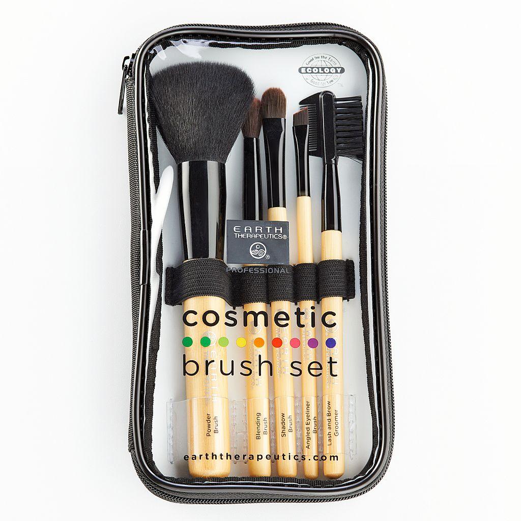 Earth Therapeutics 5-pc. Cosmetic Brush Set