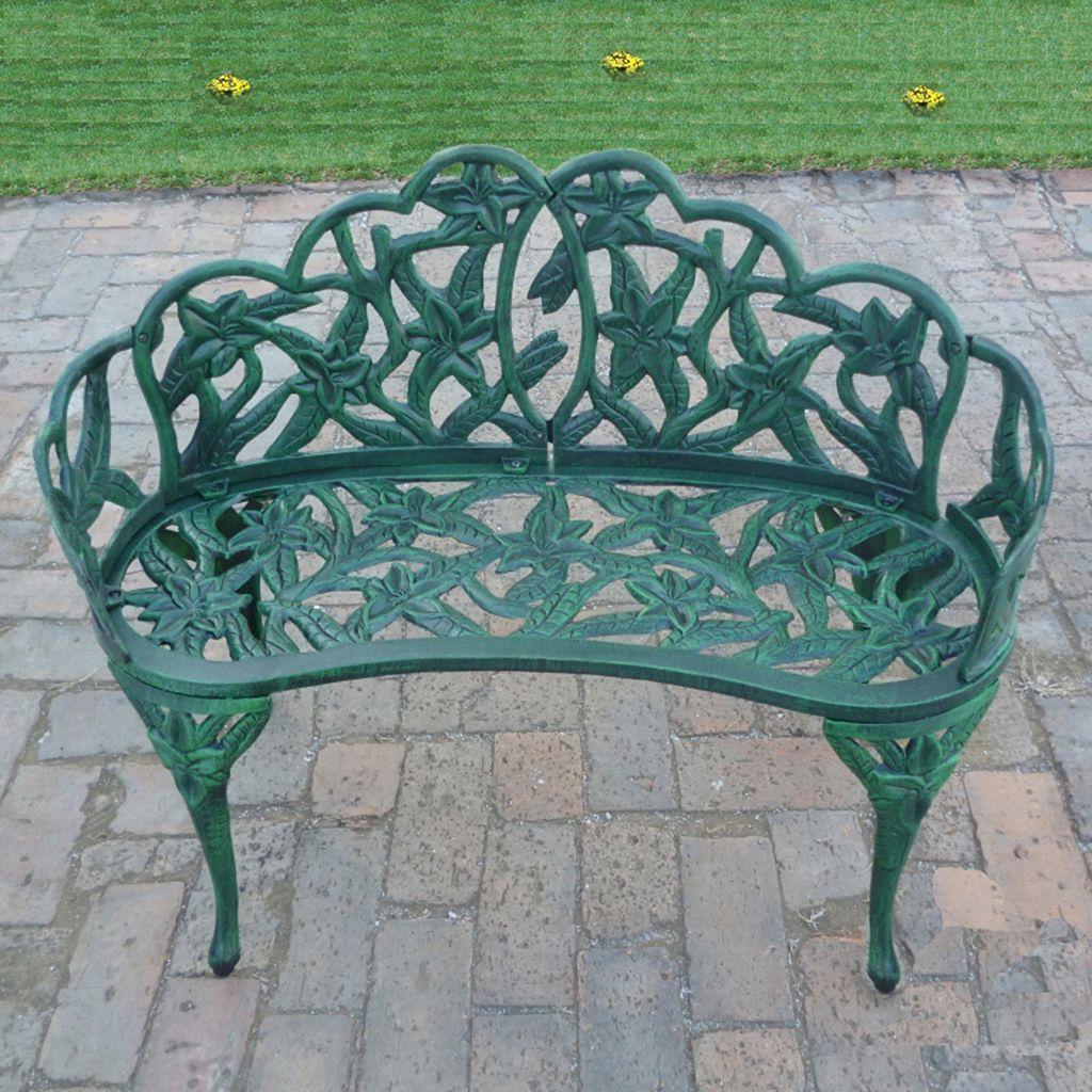 Lily Garden Outdoor Bench
