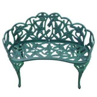 Lily Garden Outdoor Bench