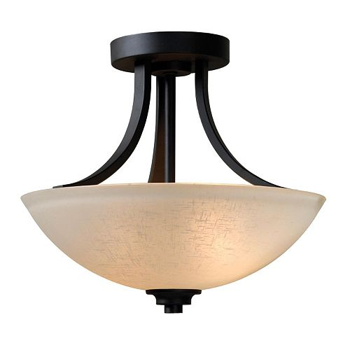 Dynasty Semi-Flush Mount Ceiling Lamp