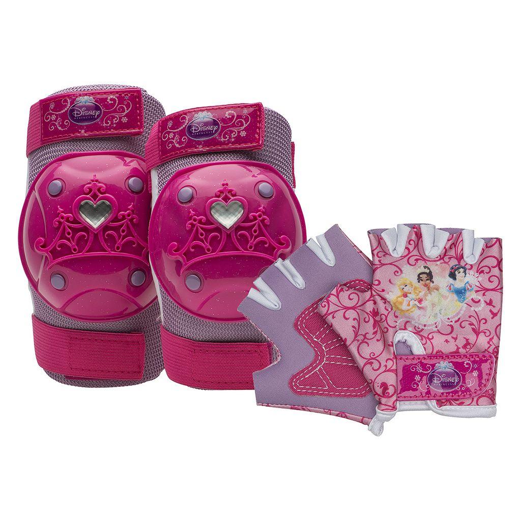 Disney Princess Girls Knee, Elbow & Hand Pad Set by Bell