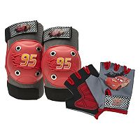 Disney / Pixar Cars Lightning McQueen Boys Knee, Elbow & Hand Pad Set by Bell