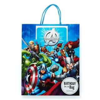 Hallmark Avengers Gift Bag with Card and Tissue