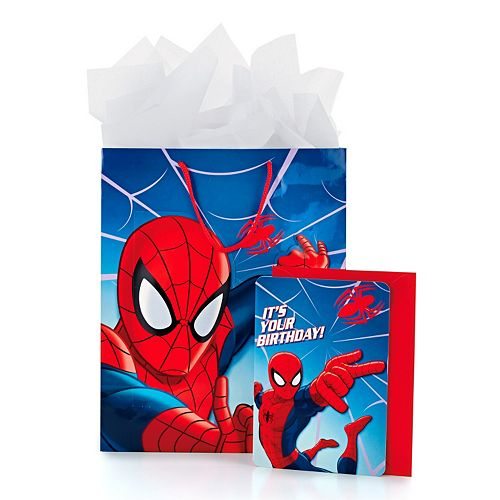 Marvel Spider-Man Gift Bag with Card & Tissue by Hallmark