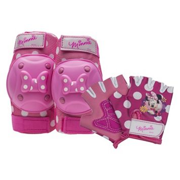 Disney's Minnie Mouse Girls Knee, Elbow & Hand Pad Set by Bell