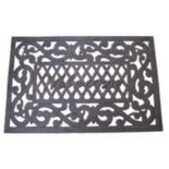 "Cast Aluminum Outdoor ""Welcome"" Doormat"