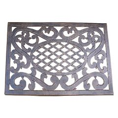 Mississippi Cast Aluminum Outdoor Doormat