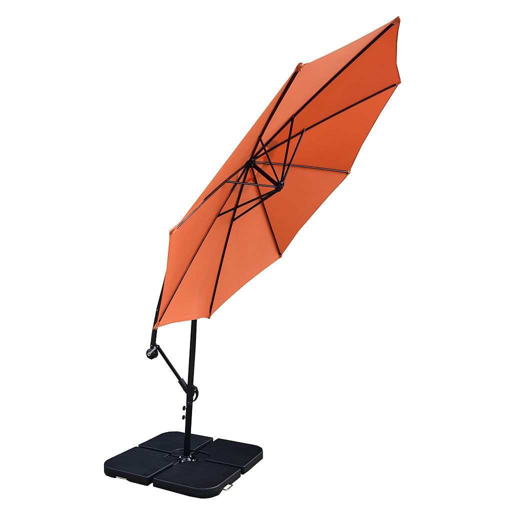 10-ft. Outdoor Cantilever Umbrella