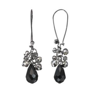 Simply Vera Vera Wang Bead Cluster Drop Earrings