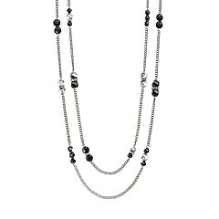 Simply Vera Vera Wang Bead Long Multistrand Necklace