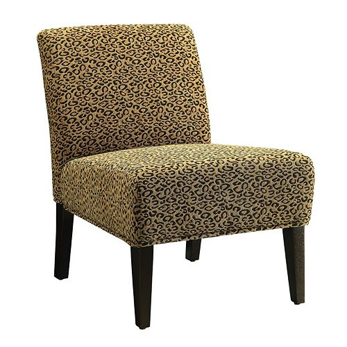 Fabulous Coaster Leopard Accent Chair Beatyapartments Chair Design Images Beatyapartmentscom