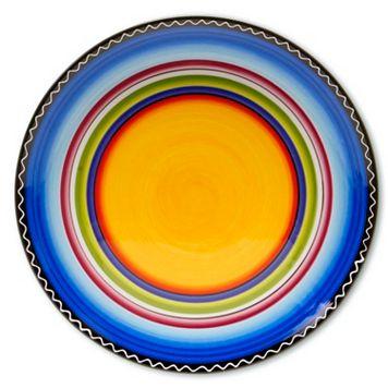 Certified International Tequila Sunrise 14.5-in. Round Serving Platter