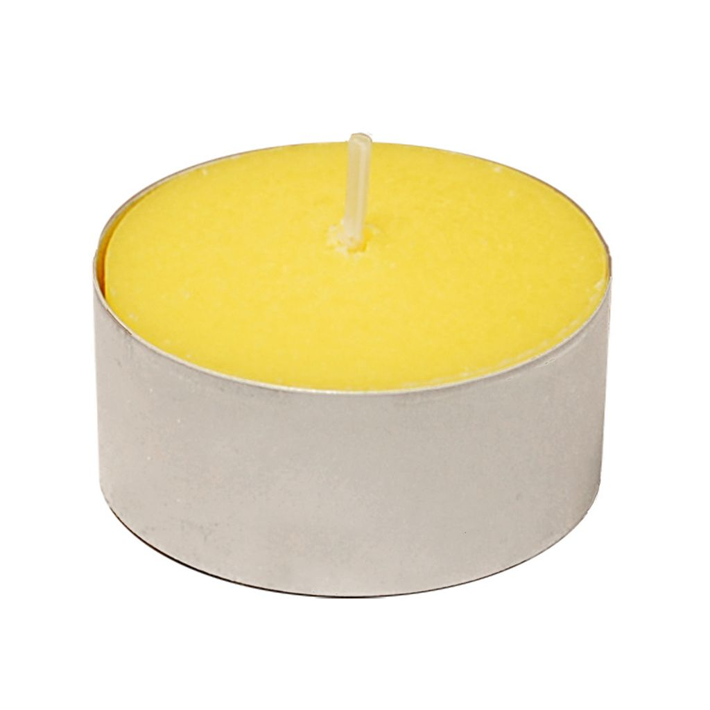 LumaBase 100-pk. Citronella Extended Burn Tea Light Candles
