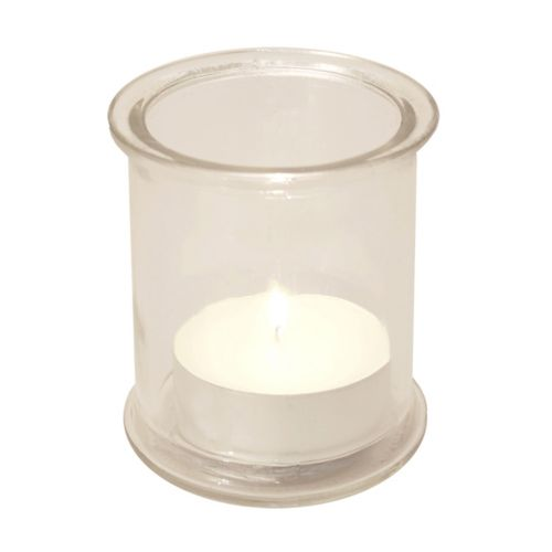LumaBase 4pk. Candleholder and Citronella Candles Set