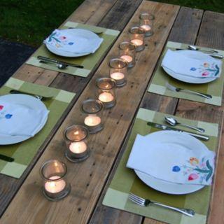 LumaBase Candle Holder & Citronella Tealight 16-piece Set
