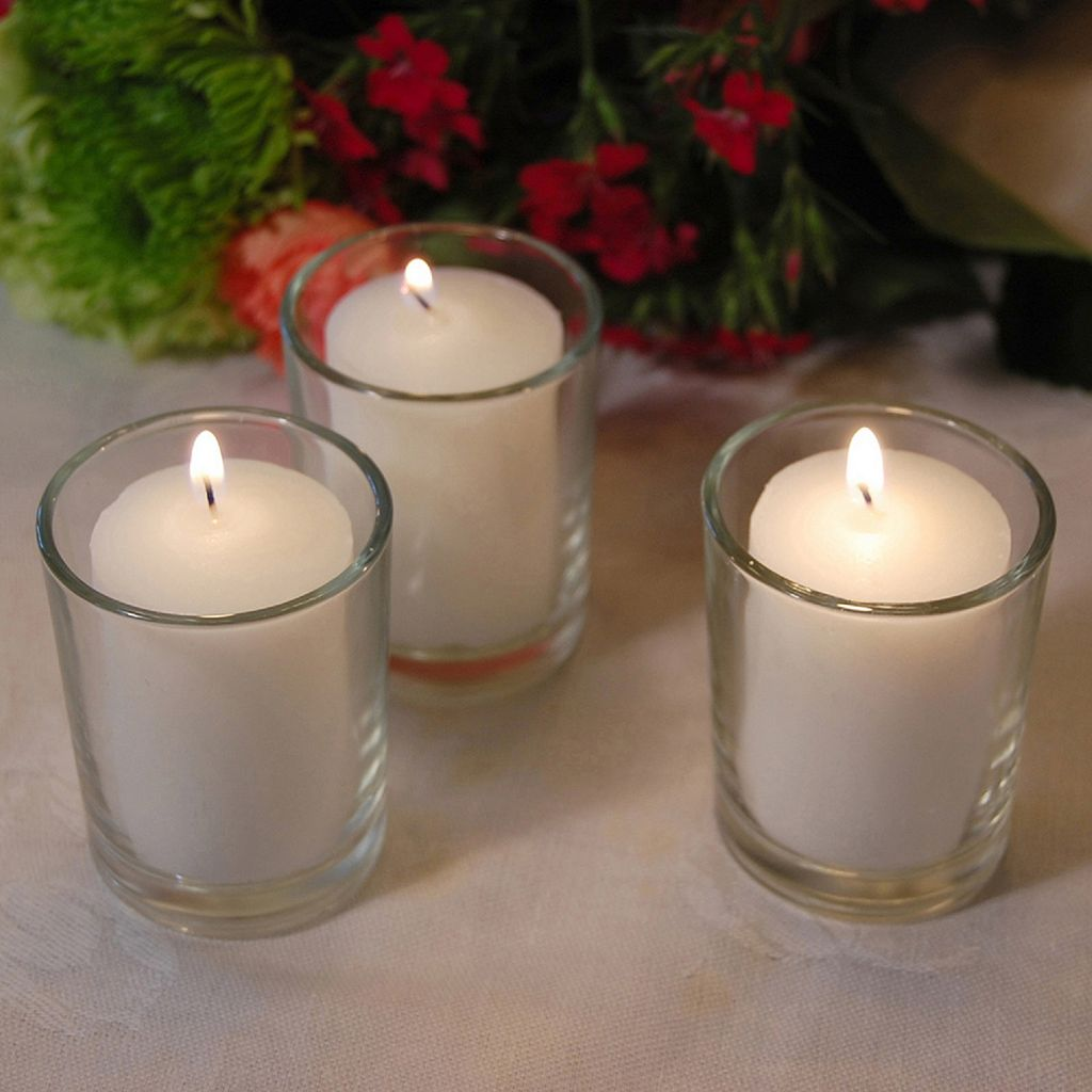 LumaBase 36-pk. Votive Candles