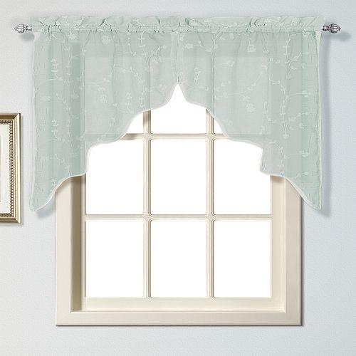 United Curtain Co. Savannah Swag Curtains - 51'' x 38''