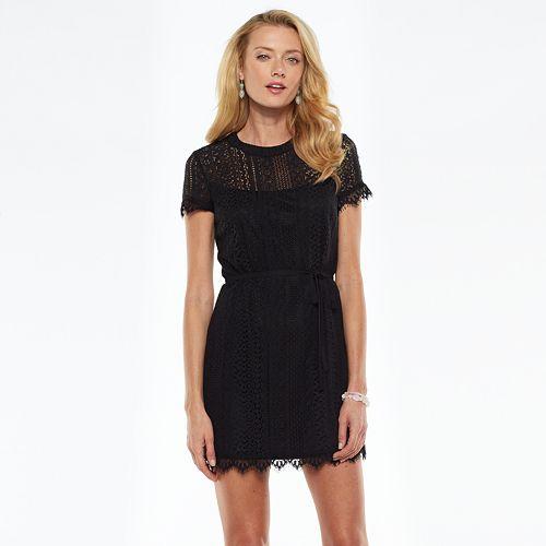 bf05036d45 LC Lauren Conrad Lace Shift Dress - Women s