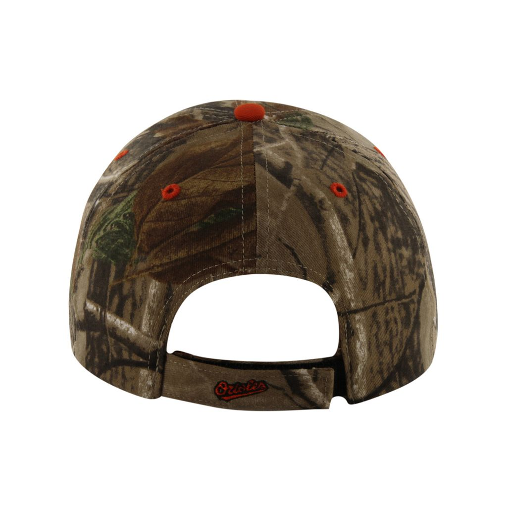 '47 Brand Baltimore Orioles Frost Realtree Camouflage Adjustable Cap - Adult