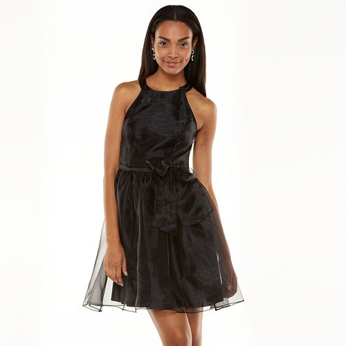 Lc Lauren Conrad Fit Flare Organza Dress Womens