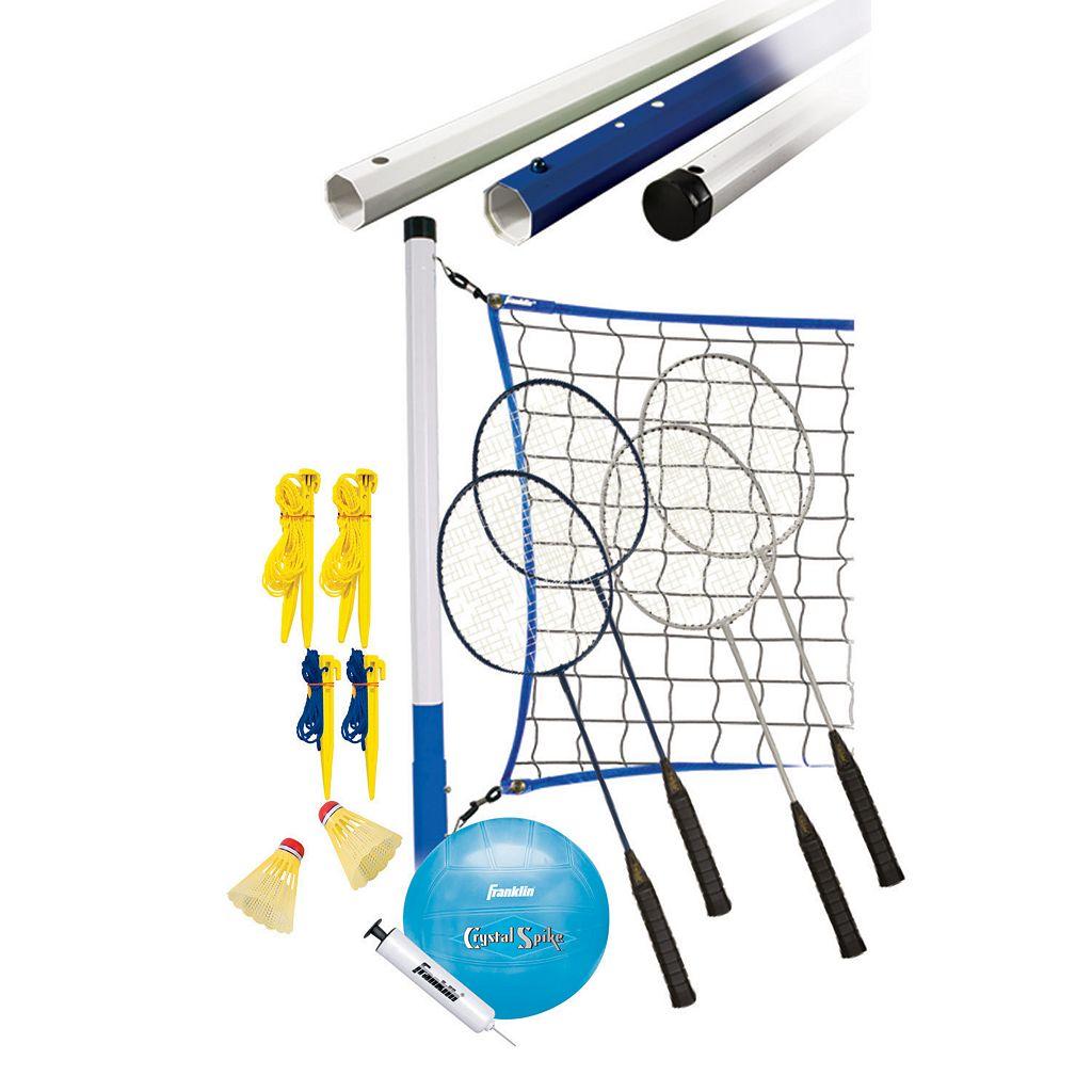 Franklin Recreational Badminton & Volleyball Set