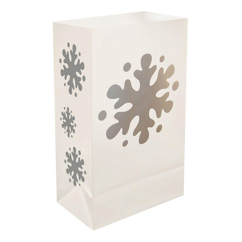 LumaBase 12-pk. Plastic Luminaria Bags - Indoor & Outdoor