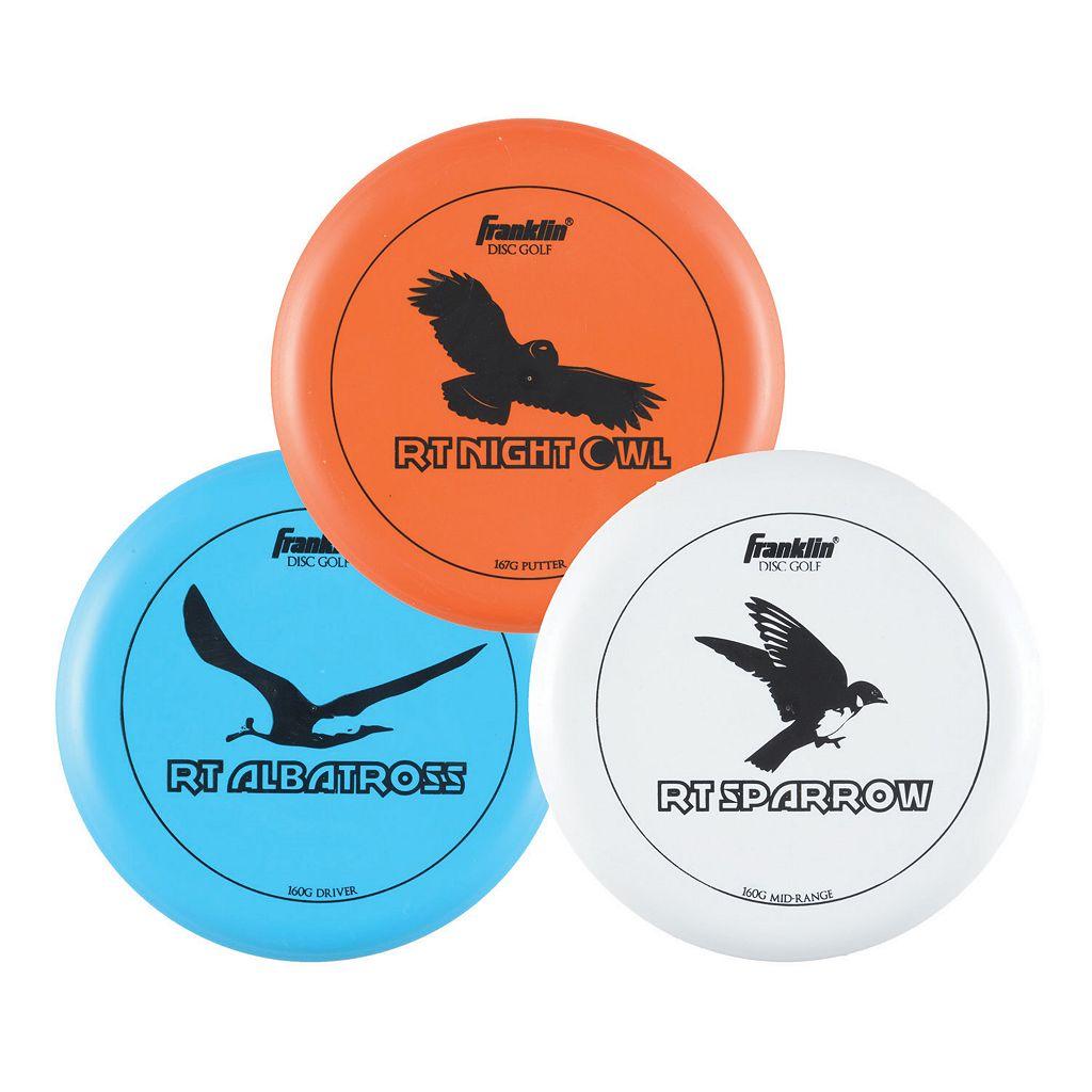 Franklin 3-pk. Disc Golf Discs