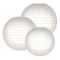 LumaBase 6 pkRound Paper Lanterns
