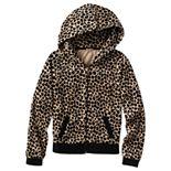 Juicy Couture Leopard Velour Hoodie - Girls 7-16