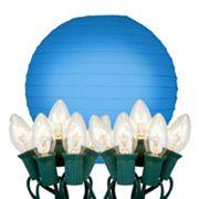 LumaBase 10 pkPaper Lantern & String Lights Set