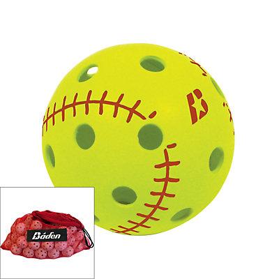 Baden BL12 Big Leaguer Whiffle Ball & Bag Set
