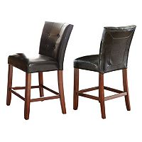 Granite Bello 2-piece Counter Chair Set