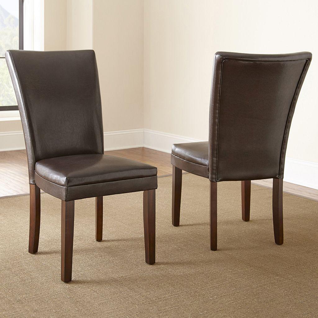 Hartford 2-piece Parsons Chair Set
