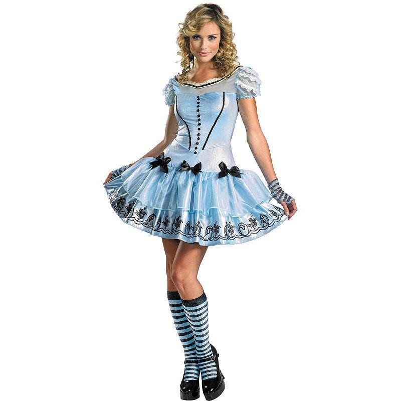 Disney Alice in Wonderland Costume - Adult